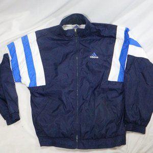 ADIDAS 3 Stripes Colorblock Track Jacket VTG